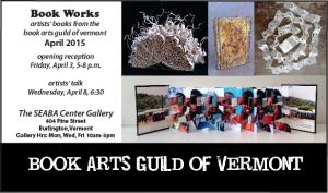 2015 Book Arts Guild of VT Show
